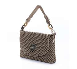 Tissa Fontaneda Shoulder bag Celebrity Ash Grey Perfil