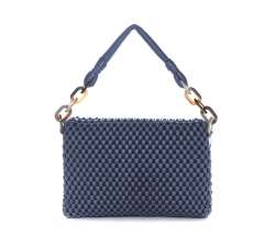 Tissa Fontaneda Shoulder bag Celebrity Blue Jeans back view