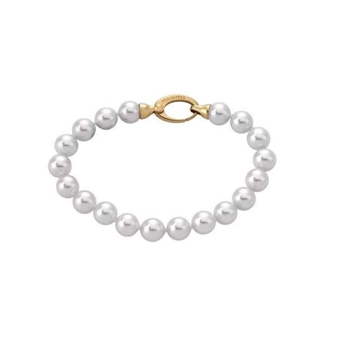 Bracelet Lyra. 8mm Golden