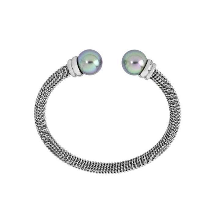 Bracelet rigid Tender. Gray