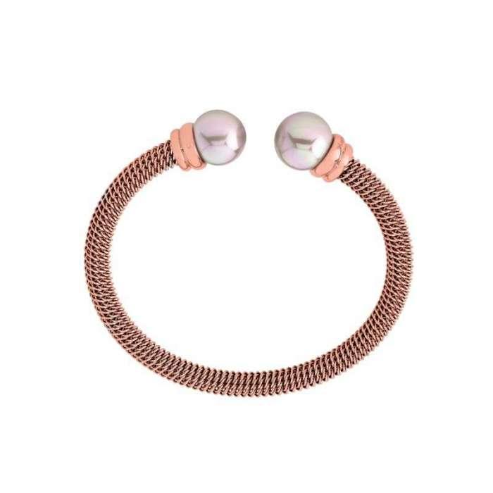 Bracelet rigid Tender. Pink