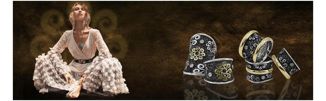 Silver rings. Bohemme - Art Jewel