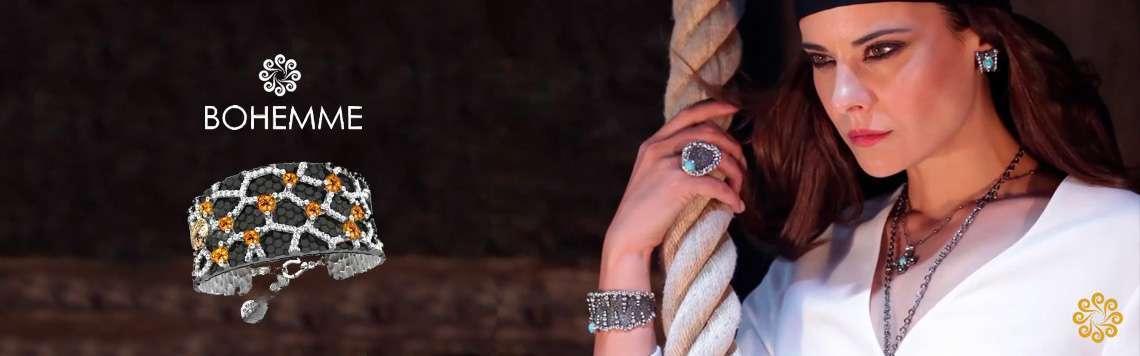 Silver Bracelets. Bohemme - Art Jewel