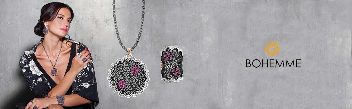 Silver pendants. Bohemme - Art Jewel