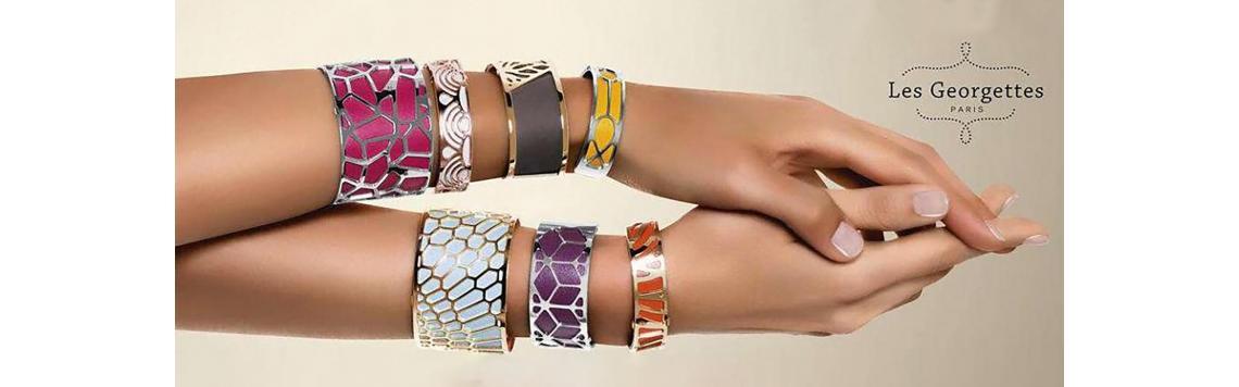Customizable bracelets and bangles - Les Georgettes - Art Joya