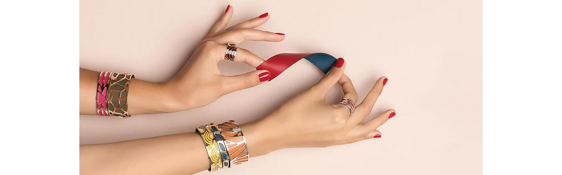 Leather for Bracelets - Les Georgettes - Art Joya