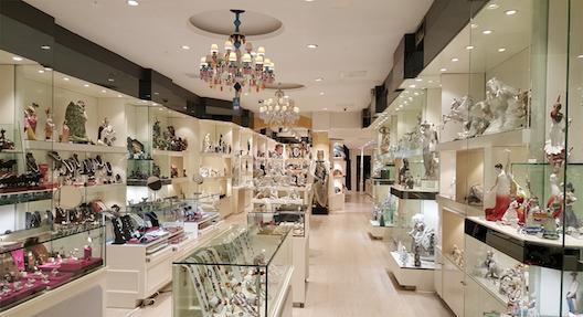 Interior de la tienda Artestilo (Madrid)